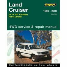 Toyota Landcruiser Petrol & Diesel Workshop Repair Manual 1998-2007 MPN Gregorys