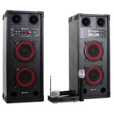 Karaoke System DJ PA Packungen drahtlos Mikrofon 600w HIFI Sound