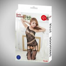 Body Pleasure - TL48 - Sexy Lingerie Set - One Size Fits Most - Gift Box - Black