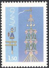 Aland 1984 Midsummer Pole/Maypole/Festivals/People 1v TYPE I + Error (n43701)