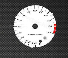 Yamaha YZF R1 RN12  04-05 Tachoscheiben Tacho Gauge dial disk Drehzahlmesser