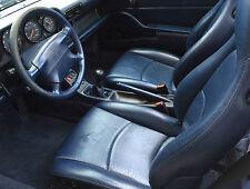Renueva Color Spallina Azul Noche Piel Volante Retoque interior Porsche 993 S