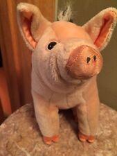 Babe pig plush stuffed animal playskool 1995 hasbro
