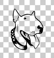 English Bull Terrier Animal Pet Puppy Car Van Bumper Window Laptop Decal Sticker