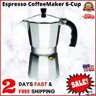 Strove Pot Espresso Cuban Moka Coffee Maker Cafetera Cubana Italiana 6 cups NEW photo