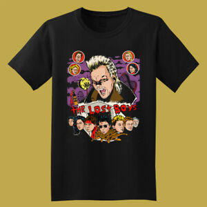 The Lost Boys Retro Horror Movie Men's Black T-Shirt Size S to 3XL
