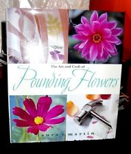 Art & Craft of Pounding Flowers No Ink, Paint Transfer to Fabric or paper HC DJ