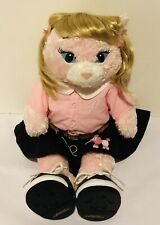 New ListingBuild A Bear Pink Cat w/50's Grease Pink Lady Sandy Outfit