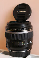 Objectif Canon EFS 60 mm 2,8 Macro Ultrasonic