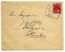 Tramblokstempel Gennep - Boxtel A van Gennep 1916 naar Zutphen