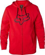 Fox Racing Legacy Foxhead Graphic Zip-Up Fleeece Hoodie  - Mens Sweatshirt