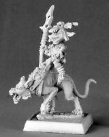 GOBELIN chevauchant CHIENT  - PATHFINDER REAPER figurine miniature jdr d&d 60014