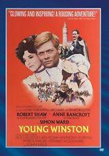 YOUNG WINSTON (1972 Robert Shaw, Anne Bancroft) Region Free DVD - Sealed