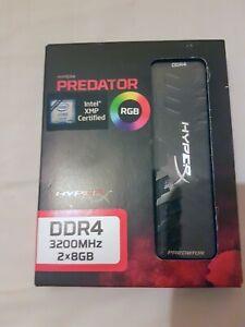 HyperX Predator RGB 16GB DDR4 3200mhz ram