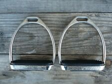 Engraved Silver Irons English Stirrups Adult