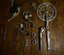 Campagnolo Chorus 7 speed full groupset and wheelset vintage eroica