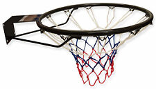 "Wollowo Full Size 18"" Wall Mounted Hanging Basketball Ring Hoop Net"