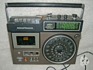 NATIONAL PANASONIC VINTAGE RADIO AND CASSETTE PLAYER,EXCELLENT CONDITION