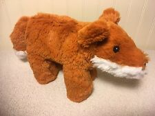 """The Manhattan Toy Company Plush Pip Fox Little Voyagers Stuffed Animal Toy 8"""""""
