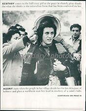 1952 The Miracle Original Press Photo Federico Fellini Anna Magnani