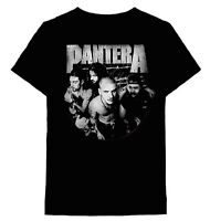 PANTERA cd lgo DISTRESSED CIRCLE GROUP PHOTO Official SHIRT XL new