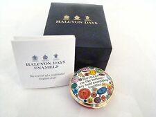Halcyon Days Enamel Box Mothers are like buttons They hold everything together