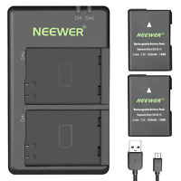 Neewer Li-ion Battery Replacement for EN-EL14 for Nikon D3100 D3200 D3300 D3400