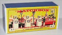 Matchbox Lesney  A1 B.P. PETROL  Empty Repro E style Box