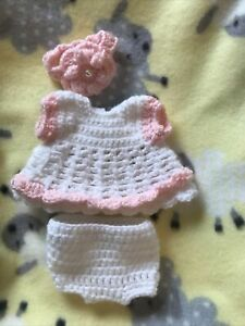 """Adorable Outfit For 9""""-10"""" Reborn ~3 Piece Set"""