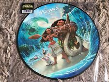 Moana Disney Soundtrack - New Limited Edition Picture Disc Vinyl LP