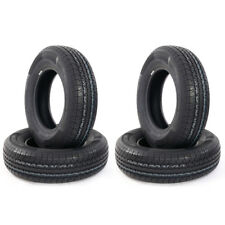4 of oshion ST205/75R15 Trailer Tires  8 PLY  Tread Depth : 10/32