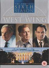 THE WEST WING - Series 6. Martin Sheen, Alan Alda, Dule Hill (6xDVD BOX SET 07)