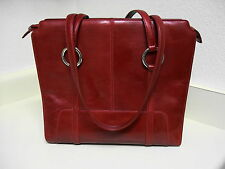 OROTON Red large tote MAGNIFICENT!  FREE SHIPPING