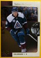 2015-16 Upper Deck UD SP Authentic Retro #R5 Nathan MacKinnon 95/96 Throw Back
