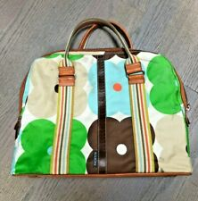 Orla Kiely laptop bag, leather accents & base (bag can also be for other uses)
