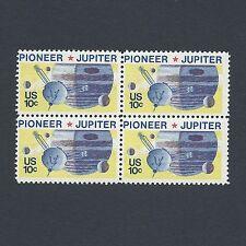 Pioneer 10 Jupiter Space Mission - 43 Year Old Vintage Mint Set of 4 Stamps!