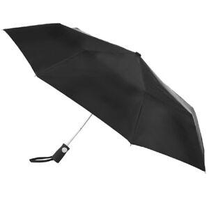 Totes Sport Auto Open Umbrella Black - 7107
