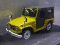 Suzuki Jimny 1970 Yellow 1/43 Scale Box Mini Car Display Diecast Vol 59