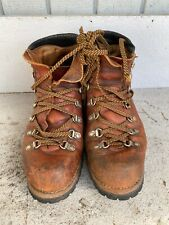 Vintage Red Wing Irish Setter Leather Hiking Mountaineer Boots 21393 - Size 8M