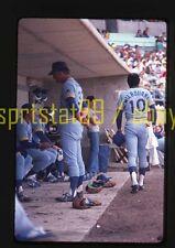 1979 Seattle Mariners Larry Milbourne #10 - Vintage 35mm Baseball Slide