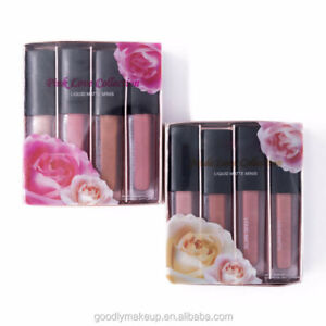 Divine Beauty Liquid Matte Minis Lipstick The Nude Edition Brown Red Power Pinks
