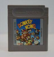 Donkey Kong (Nintendo Game Boy, 1994) Authentic, Tested, Loose Cartridge