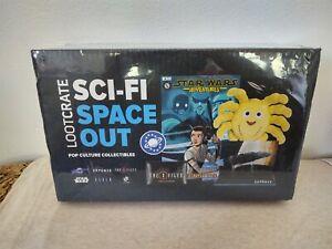 Loot Crate Sci-Fi Space Out Pop Culture Star Wars X Files Alien Galaxy Quest NIB