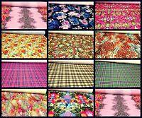 Print Quality Viscose Jersey Stretch Lycra Dress Fabric Printed Cotton Material