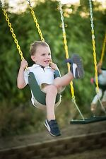 Swing With Coated Chain STRAP SEAT