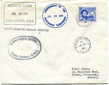 1966 Radiosonde Station Sachs Harbour Meteorological Polar Antarctic Cover