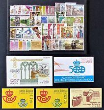 ESPAÑA - AÑO 1986 COMPLETO - NUEVOS SIN FIJASELLOS - MNH