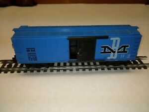 C-5 S scale American Flyer B&M box car #24056 '61 good cond. freight car #15