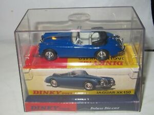 Matchbox Dinky DY-036/b JAGUAR XK150 DROP HEAD COUPE 'BLUE' RARE MIB