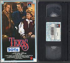 TEXAS (1941) VHS Columbia   William Holden, Glenn Ford